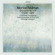 Morton Feldman (1926-1987): Coptic Light, CD