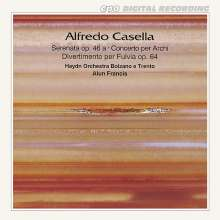 Alfredo Casella (1883-1947): Orchesterwerke, CD