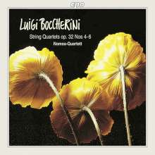 Luigi Boccherini (1743-1805): Streichquartette op.32 Nr.4-6, CD