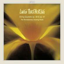 Luigi Boccherini (1743-1805): Streichquartette op.39 & op.41, CD