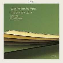 Carl Friedrich Abel (1723-1787): Symphonien op.10 Nr.1-6, CD