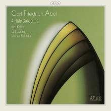 Carl Friedrich Abel (1723-1787): 4 Flötenkonzerte, CD