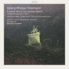 Georg Philipp Telemann (1681-1767): Schwanengesang (Trauermusik für Garlieb Sillem), CD