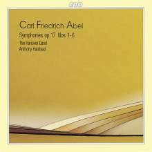 Carl Friedrich Abel (1723-1787): Symphonien op.17 Nr.1-6, CD