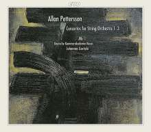 Allan Pettersson (1911-1980): Streicherkonzerte Nr.1-3, 2 CDs