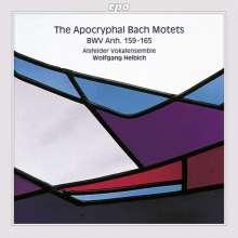 Johann Sebastian Bach (1685-1750): Die apokryphen Bach-Motetten (Apokryphe Werke 5), CD