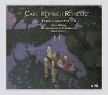 Carl Heinrich Reinecke (1824-1910): Klavierkonzerte Nr.1-4, 2 CDs