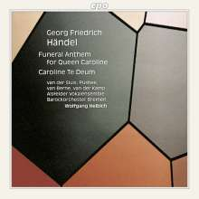 Georg Friedrich Händel (1685-1759): Funeral Anthem for Queen Caroline, CD