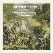 Heinrich Ignaz Biber (1644-1704): Arminio, 3 CDs