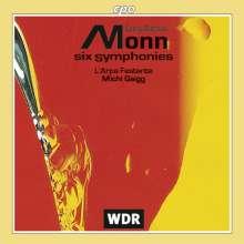 Matthias Georg Monn (1717-1750): 6 Symphonien, CD