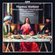 Thomas Stoltzer (1480-1526): Missa duplex per totum annum, CD