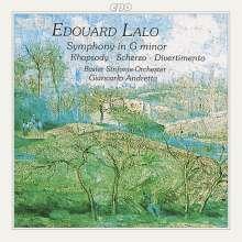 Edouard Lalo (1823-1892): Symphonie g-moll, CD