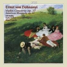 Ernst von Dohnanyi (1877-1960): Violinkonzert Nr.1 op.27, CD