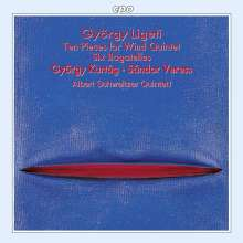 György Ligeti (1923-2006): 6 Bagatellen für Bläserquintett, CD