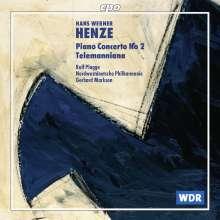 Hans Werner Henze (1926-2012): Klavierkonzert Nr.2, CD
