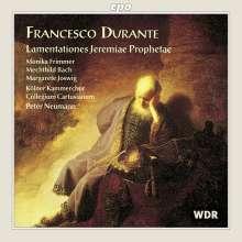 Francesco Durante (1684-1755): Lamentationes Jeremiae Prophetae, CD