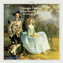 Georges Onslow (1784-1852): Streichquartette op.4,1, op.10,1 & op.46,3, CD