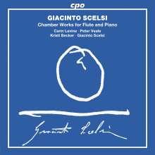 Giacinto Scelsi (1905-1988): Kammermusik für Flöte & Klavier, CD