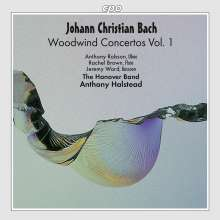 Johann Christian Bach (1735-1782): Konzerte für Bläser Vol.1, CD