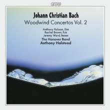 Johann Christian Bach (1735-1782): Konzerte für Bläser Vol.2, CD