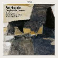 Paul Hindemith (1895-1963): Sämtliche Cellokonzerte, CD