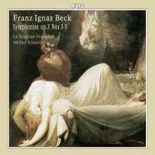 Franz Ignaz Beck (1734-1809): Symphonien op.3 Nr.3-5, CD