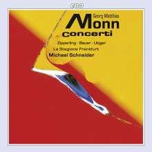 Matthias Georg Monn (1717-1750): Konzerte für verschiedene Instrumente, CD