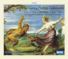 Georg Philipp Telemann (1681-1767): Damon, 3 CDs