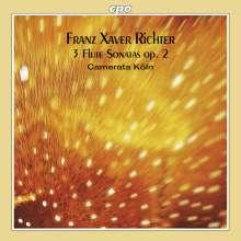 Franz Xaver Richter (1709-1789): 3 Flötensonaten op.2, CD