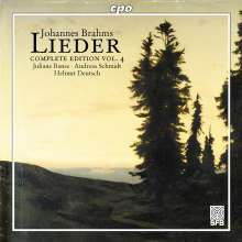 Johannes Brahms (1833-1897): Sämtliche Lieder Vol.4, CD