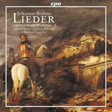 Johannes Brahms (1833-1897): Sämtliche Lieder Vol.8, CD