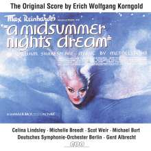 Erich Wolfgang Korngold (1897-1957): Ein Sommernachtstraum (Filmmusik), CD