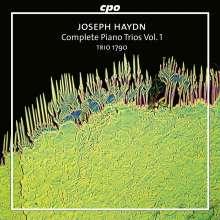Joseph Haydn (1732-1809): Sämtliche Klaviertrios Vol.1, CD