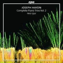 Joseph Haydn (1732-1809): Sämtliche Klaviertrios Vol.2, CD