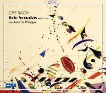Carl Philipp Emanuel Bach (1714-1788): Triosonaten Wq 144-151, 2 CDs
