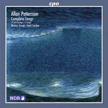Allan Pettersson (1911-1980): Sämtliche Klavierlieder, CD