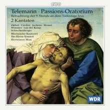 Georg Philipp Telemann (1681-1767): Passions-Oratorium TWV 5:5, CD
