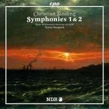 Christian Sinding (1856-1941): Symphonien Nr.1 & 2, CD