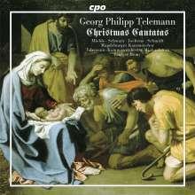 Georg Philipp Telemann (1681-1767): Weihnachtskantaten I, CD