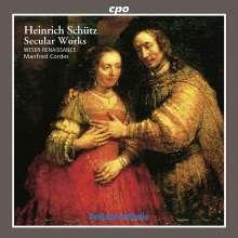 Heinrich Schütz (1585-1672): Weltliche Werke, CD