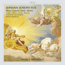 Johann Joseph Fux (1660-1741): Missa Corporis Christi, CD