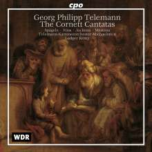Georg Philipp Telemann (1681-1767): Cornett-Kantaten, CD