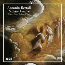 Antonio Bertali (1605-1669): 15 Sonate festive, CD