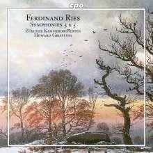 Ferdinand Ries (1784-1838): Symphonien Nr.3 & 5, CD