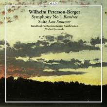 "Wilhelm Peterson-Berger (1867-1942): Symphonie Nr.1 ""Baneret"", CD"