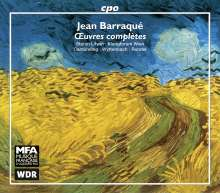 Jean Barraque (1928-1973): Das Gesamtwerk, 3 CDs
