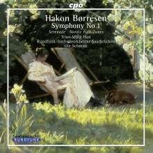 Hakon Börresen (1876-1954): Symphonie Nr.1, CD