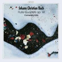 Johann Christian Bach (1735-1782): Flötenquartette op.19 Nr.1-4, CD