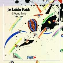 Johann Ludwig Dussek (1760-1812): Klaviertrios op.20,3; op.24,3; op.31,1-3, CD