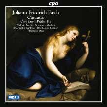 Johann Friedrich Fasch (1688-1758): Kantaten, CD